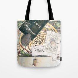 time (trompe l'oeil) Tote Bag