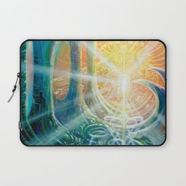 """Light Temple"" by Adam France Laptop Sleeve"