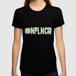 #NFLNCR social media influencer hashtag # T-shirt