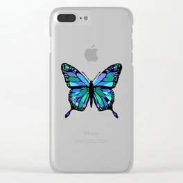 The Shattering Butterfly Clear iPhone Case