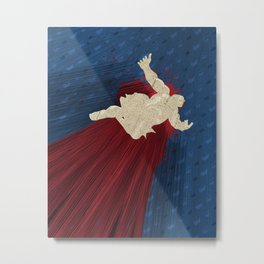 When Hondas Fly (Homage To Street Fighter's E. Honda) Metal Print