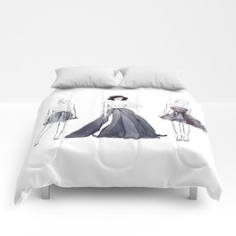 Three Fashion Girls Comforters