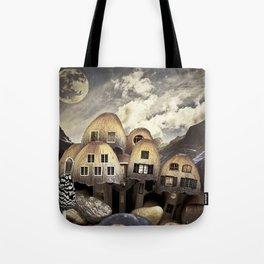 Mushrom Village Tote Bag