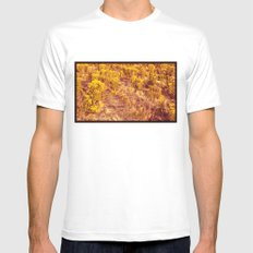 Back to Pepperland. MEDIUM White Mens Fitted Tee