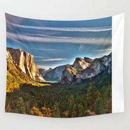 Yosemite Mountains, Yosemite National Park, California Wall Tapestry