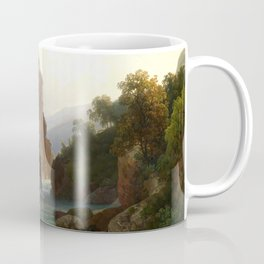 View of the Castel San Zeno, near Merano by Thomas Ender Coffee Mug