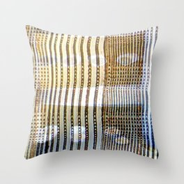 Combed Texture II Throw Pillow