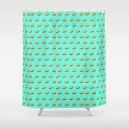 Project Burger Shower Curtain