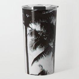 Velvet Palm trees on marble Travel Mug
