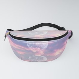 Moon Reflection Sunset Fanny Pack