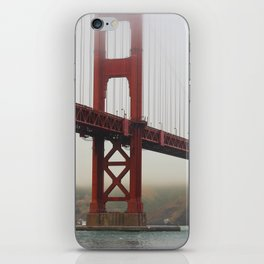 Golden Gate Fog iPhone Skin
