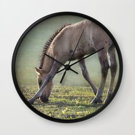Bella's Filly and a Friend Wall Clock