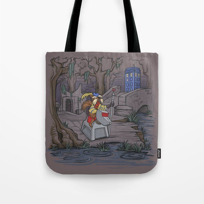 WHO Shall Not Pass Tote Bag