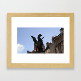 The Days Drag On Framed Art Print