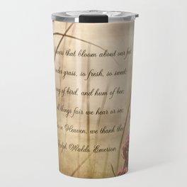 Tender Thoughts  Travel Mug