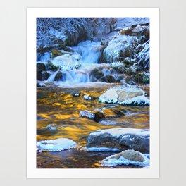 Copper Waters By Luke Nielson Art Print