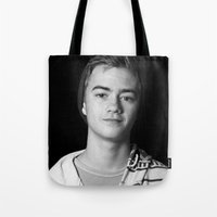allyson johnson Tote Bags featuring Jack Johnson by fangirl123
