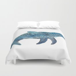 Blue Whale Duvet Cover