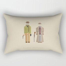 Django Unchained | Famous Costumes Rectangular Pillow