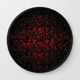 Joshua Tree Vampiro by CREYES Wall Clock
