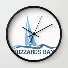 Buzzard Bay. Cape Cod Wall Clock