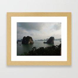 Ha Long bay, Vietnam Framed Art Print