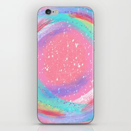 Candy Colored Circles iPhone Skin