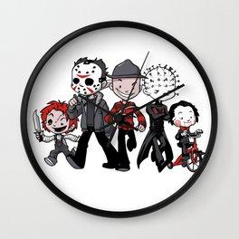 Horror BFFs Wall Clock