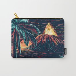 hawaiian night Carry-All Pouch