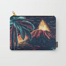 hawaiian night Carry-All Pouch