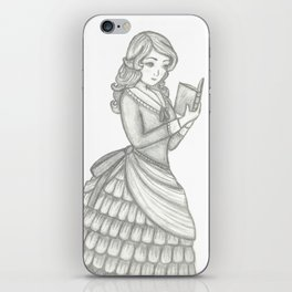 Victorian Girl iPhone Skin