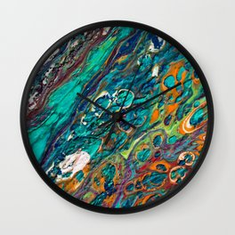 Craters Wall Clock