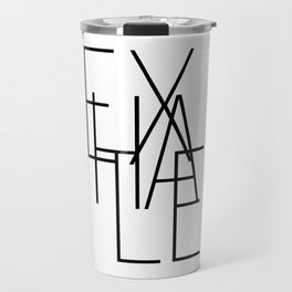 Inhale exhale (2 of 2) Travel Mug
