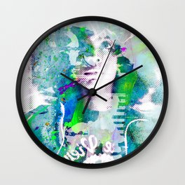 Ode To Badu Wall Clock