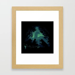 Forest Dwellers Framed Art Print