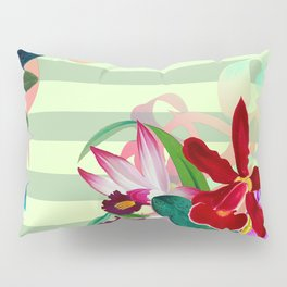 Tropical Blooms Pillow Sham