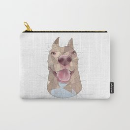 Smiling Pup Carry-All Pouch