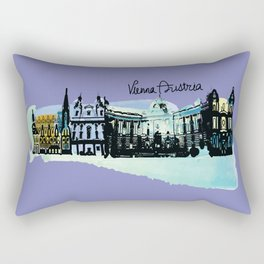 Vienna Austria Rectangular Pillow