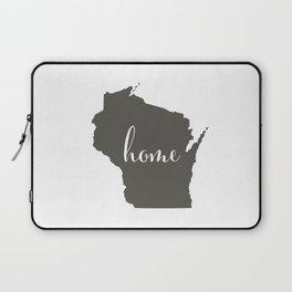 Wisconsin is Home Laptop Sleeve