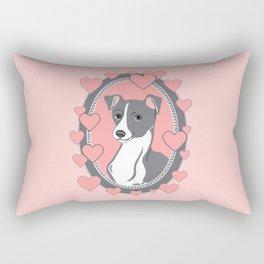 Italian Greyhound Love Rectangular Pillow