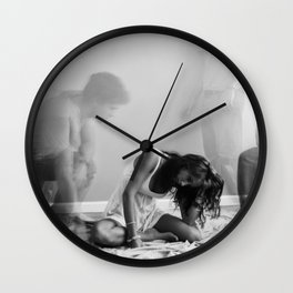 The Ghost that Broke a Heart Wall Clock