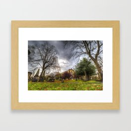 Greyfriars Kirk Church Edinburgh Framed Art Print