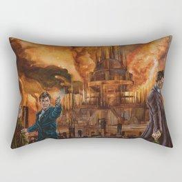 Saviour of Gallifrey Rectangular Pillow