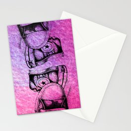 Violet Sneakers Stationery Cards
