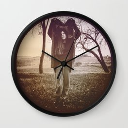 INSIDE A CIRCLE OF EMOTIONS. Wall Clock