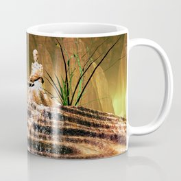 The mysterious underwater cave Coffee Mug
