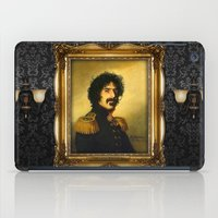 replaceface iPad Cases featuring Frank Zappa - replaceface by replaceface