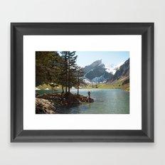 Seealpsee Framed Art Print