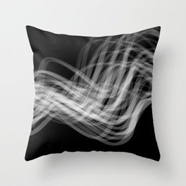 Linear Flow2 Throw Pillow