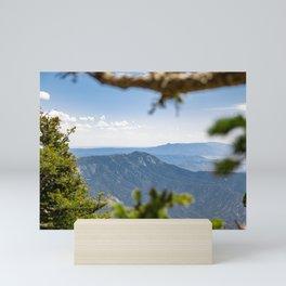 Sandia Through the Trees Mini Art Print